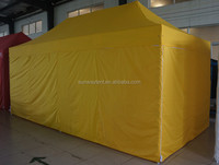 3*6M hexagon folding gazebo with sidewalls