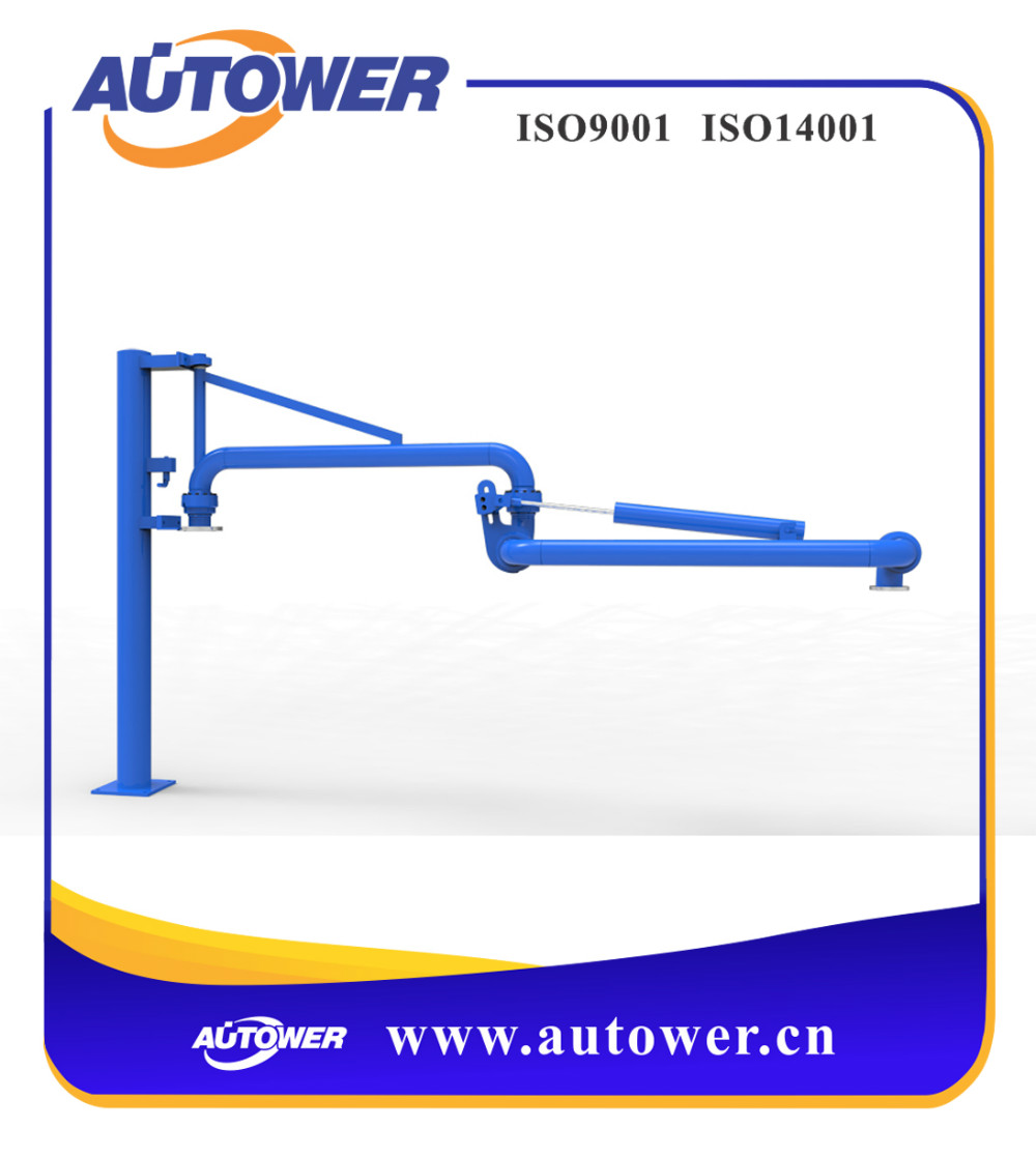 easy installation loading&unloading arm with magnetic valve