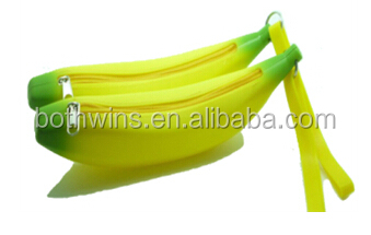 banana shaped purse