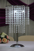 IDA Large table top crystal chandelier flower stands centerpieces for weddings(IDATC316)