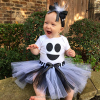 2016 Comfortable Cotton Baby Dress New Style Baby Outfit Halloween Costume Tutu Dress Baby Clothes