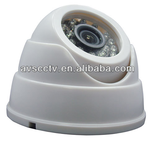 1/3 Color Sony CCD IR CMOS 600TVL Dome Camera