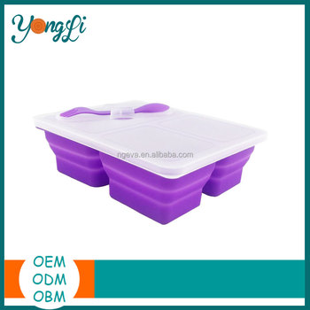 Kitchenware Silicone Outdoor Lunch Box Bag
