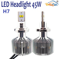 No Error Message High Power H7 6000lk LED Headlight Bulb 45w 4500lm For Car Truck Light Replacement