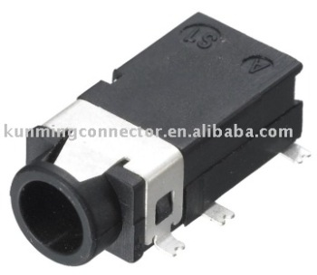 Mp4 Connector Smt Stereo Headphone 3 5mm 4 Pole Jack Htj