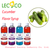 900ml Monin Cucumber Flavor Cocktail Syrup Mix Raw Material Bubble Tea Ingredients