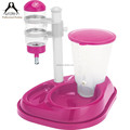 2 in 1 food grade plastic dog food feeder water feeder