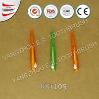 with cover plastic interdental toothpicks