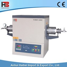 HB-TUBEF-1600C 1600C High temperature vacuum tube furnace lab furnace
