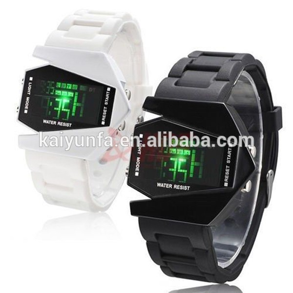 new promotional watches led plastic digital sport