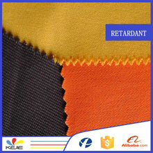 Alibaba manufacture NFPA2112 proban finished 100% cotton twill fabric