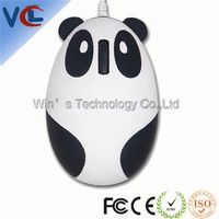 Wired Panda Optical USB quiet mouse