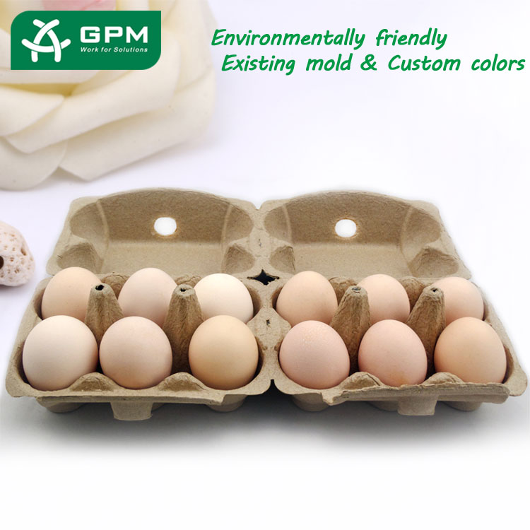 High quality recyclable paper egg tray product plant