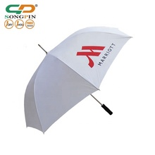 "2019 cheap 30"" straight custom umbrellas colorful company logo printed golf umbrella wholesales"