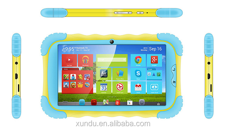 Fashionable colorful ABS shell A33 7 Inch cheap price kids tablet pc
