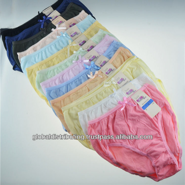 2014 Fashion Sexy Girls Cotton Briefs Stock Lot,140305