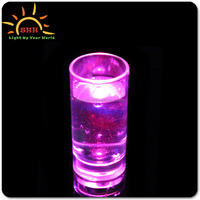Great Promotional Bar Item Plastic LED Glass, Light Up Cup Led Cup for party decoration CHINA