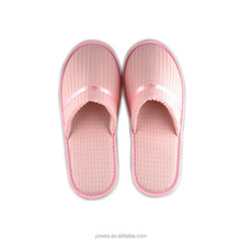 Wholesale waffle hotel slippers for wedding