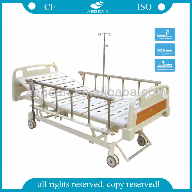 AG-BM107 With silent wheels 3-function refurbished hospital beds