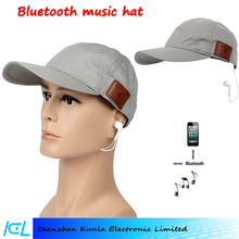 Wireless Bluetooth Baseball Cap Adjustable Cap with Earphones Stereo Speaker