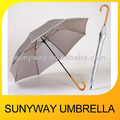 Manual Open Straight Check Pattern Umbrella