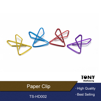 China Best Selling Colored Metal Paper Clip