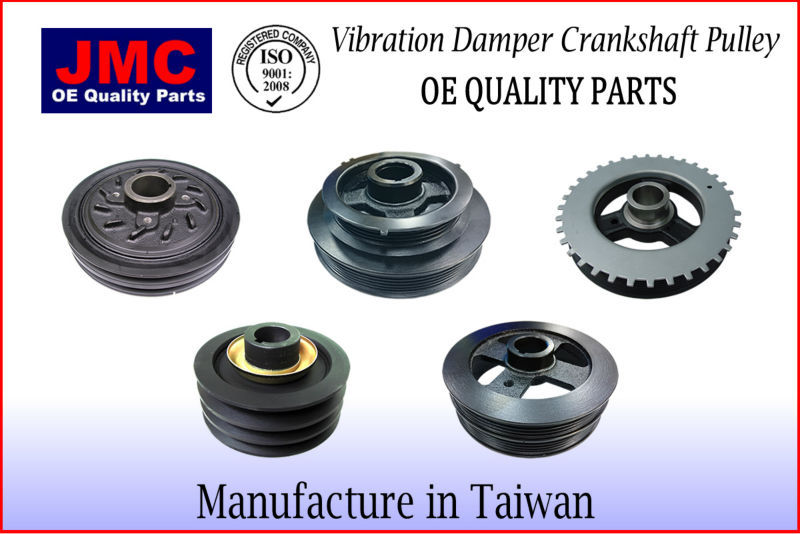 JMNS-CP007 Vibration Damper Crankshaft Pulley for D22 KA24DE DESERT TRUCK PICKUP NP300 12303-VJ260 12303VJ260