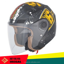ECE approval half face helmets for motor bicycle