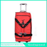 sport duffel bag with trolley