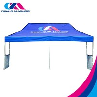 Custom printed trade show pop up fold aluminum canopy tent for sale
