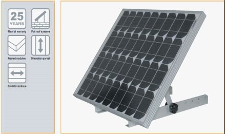 Adjustable Angle Solar Panel Mounting Support