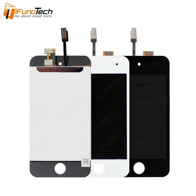 Original Grade AAA 960x640 3.5 Inch White Black LCD for Apple iPod Touch 4 4G LCD Display and Touch Screen Digitizer Assembly