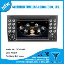 S100 Car DVD Player For Mercedes Benz SLK 171 2003-2011 with GPS A8 Chipset 3 zone POP 3G/wifi BT 20 dics playing