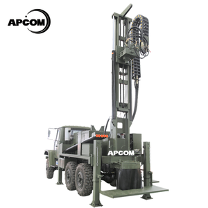 Wholesale APCOM trailer mounted water well drilling rig truck mounted water well drill rig truck-mounted water well drilling rig