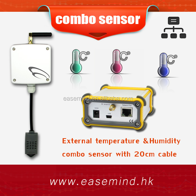 64 Channels Wireless Base Station temperature humidity sensor 433mhz rf module