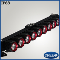10inch 50w spot / flood led bumper bar light for 4x4 4wd with cree chip