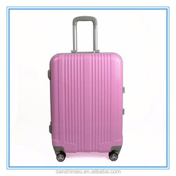 China factory good quality printing children women PC+ABS fashionable trolley luggage bag wheels for suitcase