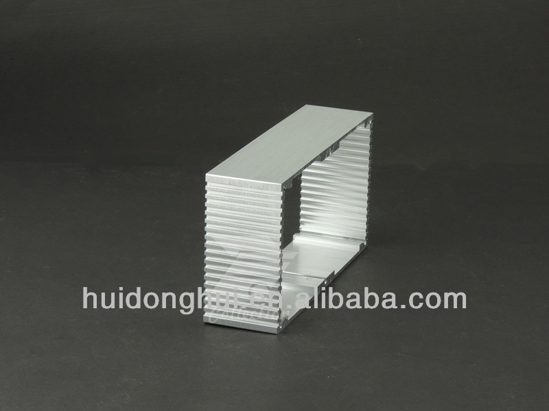 2014 new Aluminum extrusion enclosure with Anodizing different color for PCB adapter housing