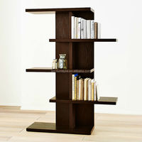 Freely combined high quality simple wooden bookcase, living room cabinet divider