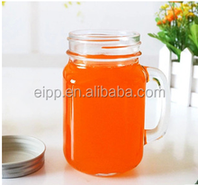 Wholesale Clear Glass Cup Drinking with Handle