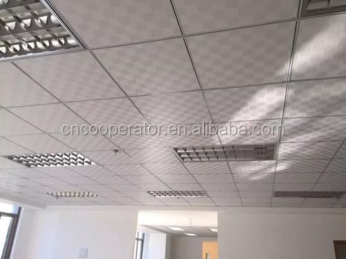 cheap beautiful ceiling tile, 595x595x7/8mm,603x603x7/8mm pvc gypsum ceiling board, gysum false ceiling