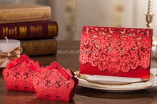 Most popular Wedding Event & Party Supplies Red Invitation Card Candy Box
