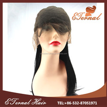 Wholesale natural hair line brazilian silk straight lace front/full lace wig with stock and supply dropshipping