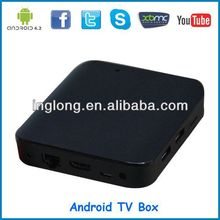 Android TV Box Cortex A7 Allwinner Boxchip A20 Android 4.2 dual core 1080P XBMC smart tv box