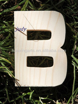 Decorative small wooden craft alphabet letters wholesale for Small wooden letters for crafts