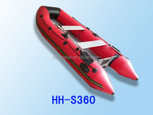 3.3m Fibreglass Inflatable Boat for water sports with CE certification