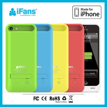for iphone battery 5 c external battery case for iphone 5c rechargeable charger