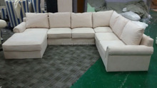 Luxury furniture sectional U shaped sofa set,extra long sofa