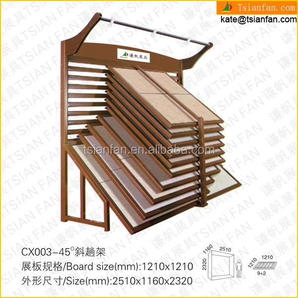CX015--- Ceramic sliding tile display stand