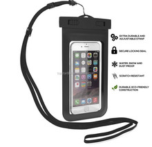 2017 Promotional Item Hot new products waterproof cellphone bag, mobile phone PVC waterproof dry bag for driving